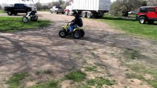 3. Lot 105 - 2006 Suzuki Z50 Quadsport ATV