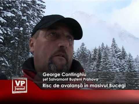 Risc de avalanşă în masivul Bucegi
