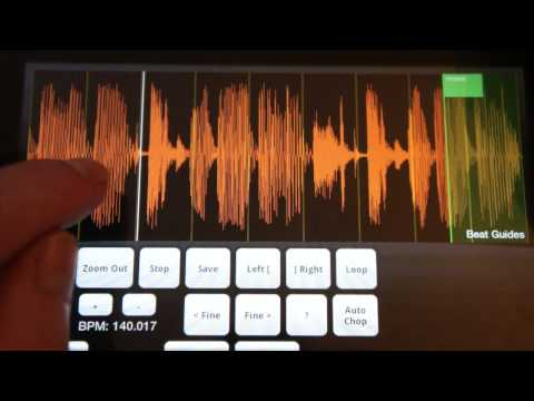 Video of Sonic Chop Sample Ripper