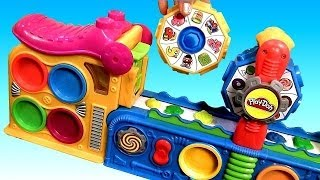 Play-Doh Mega Fun Factory Playset Toy Review 3D Play Dough Mega Fábrica Loca by DisneyCollector