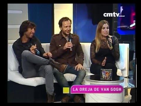 La Oreja de Van Gogh video Estudio CM - Entrevista 08-2014