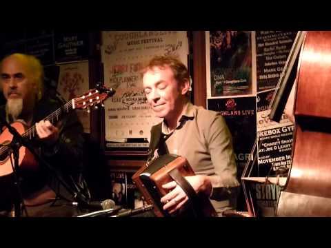 Dermot Byrne, Steve Cooney & Trevor Hutchinson at Coughlan's, Cork, Ireland 02.10.15.