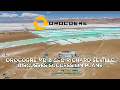 Orocobre Limited – CEO & MD Richard Seville Discusses Succession Plans