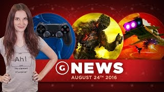 New PS4 Controller Details Leak & New No Man's Sky Patch For PS4! - GS Daily News by GameSpot
