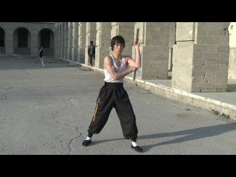 The 'Afghan Bruce Lee' dreaming of Hollywood