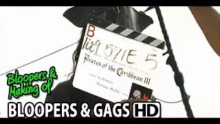 Pirates of the Caribbean: At World's End (2007) Bloopers Outtakes Gag Reel (Part2/2)