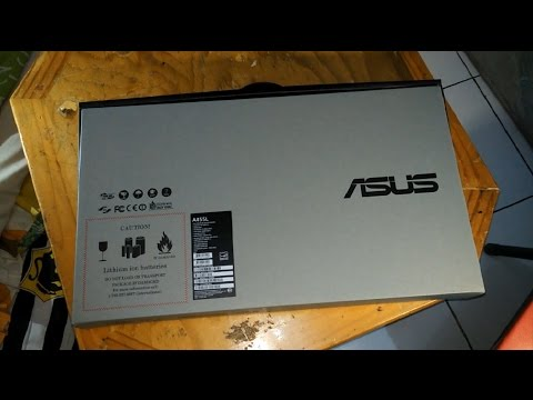 Unboxing Asus A455LF-WX049D Laptop