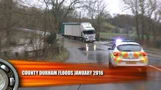 Durham United Kingdom  city pictures gallery : UK Floods County Durham January 2016
