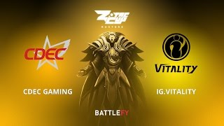 CDEC Gaming vs IG.Vitality, Game 2, Zotac Cup Masters, CN Qualifier