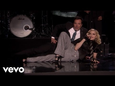 Madonna - Borderline (Live On The Tonight Show Starring Jimmy Fallon)