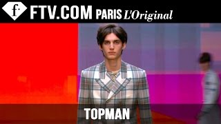 Topman Design Fall/Winter 2015-16 | London Collections: Men | FashionTV