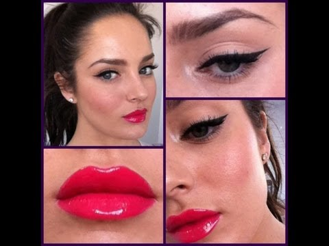 modern pin up - PLEASE LIKE MY NEW FACEBOOK: http://www.facebook.com/ChloeMorelloBeauty INSTAGRAM: ChloeMorello TWITTER: @ChloeMorello PERSONAL FACEBOOK (subscribe!): http:/...
