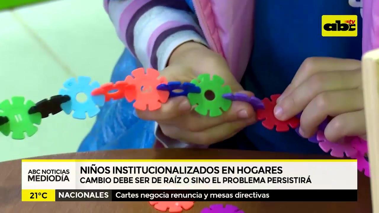 Niños institucionalizados: cambiar la raíz o no cambiar nada