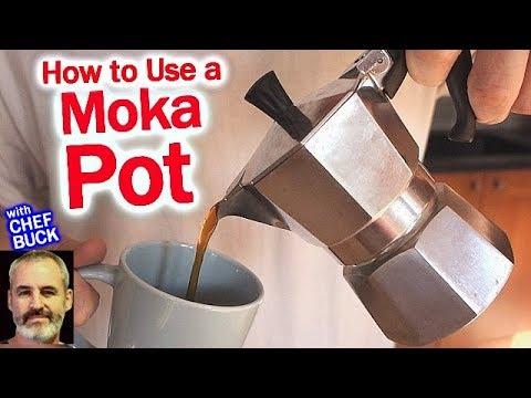 Moka Pot for Great Cafe Au Lait