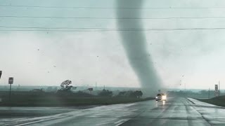 Absolutely Insane Chickasha Oklahoma Tornado Video From Up Close!!!!!