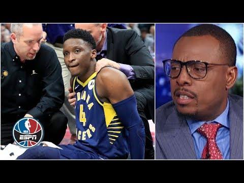 Video: Victor Oladipo injured: Paul Pierce, Stan Van Gundy react | NBA Countdown