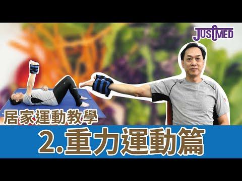 2.重力運動篇。 一起做重力運動強化肌力,對抗疫境!
