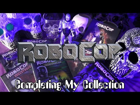 Blu-ray/DVD Update - ROBOCOP - Directive 5: Complete My Collection