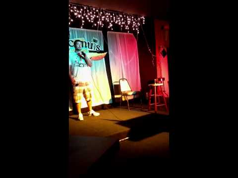 Horrible Open Mic Douche get's owned!