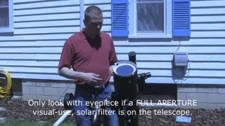 Video How to view the Sun safely - eclipses, sunspots MP3, 3GP, MP4, WEBM, AVI, FLV Juli 2018