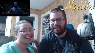 Aladdin Special Look Teaser Reaction! Genie Revealed!
