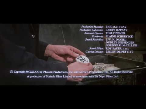 The Private Life of Sherlock Holmes (1970) Opening Titles