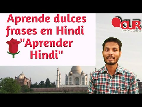 Frases para enamorar - Aprende frases en hindi para enamorar a alguien con Rizwan Khan