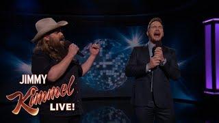 "Video Guest Host Chris Pratt & Chris Stapleton Sing ""(I've Had) The Time of My Life"" MP3, 3GP, MP4, WEBM, AVI, FLV Agustus 2018"