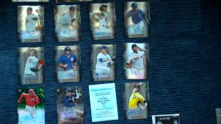 2014 Bowman Sterling Baseball Hobby Box Break 18 HITS