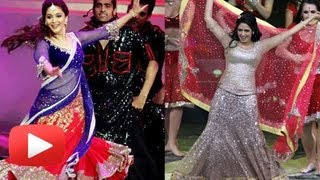 Madhuri Dixit Vs Sridevi At IIFA 2013 Performance #IIFA2013