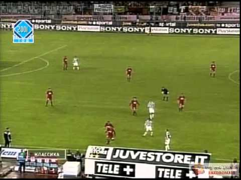 full match - https://twitter.com/RaedAlonazi Juventus-Roma 2-2 l 6/5/2001 6 Maggio 2001 - Juve Roma 2-2 Juventus (4-3-1-2): Van Der Sar 5, Tudor 6.5, Juliano 6 (44' st Fe...