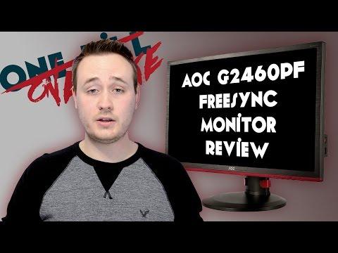AOC G2460PF FreeSync 144hz 1080p Monitor - Review