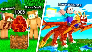 Most Annoying Player Hatched a PET DRAGON in MINECRAFT!