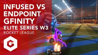 Highlights from Infused and Endpoint in week 3 of the Rocket League Gfinity Elite Series Season 1. Endpoint gave a valiant effort against an Infused team that weren't scoring many goals but ultimately were swept 3-0.Gfinity Elite Series Rocket League Highlight VOD's Playlist:https://www.youtube.com/playlist?list=PL-BwJere_U_ljDToJi-eTObuDoCyMH1P_--------------------------------------------------------------------------------------------------Keep up to date with all that's happening with the Elite Series:https://www.gfinityesports.comDo you have what it takes to compete on the big stage? Joing our Challenger division:https://challenger.gfinityesports.com/Looking for other games? Check out our other supported games:http://www.gfinity.net