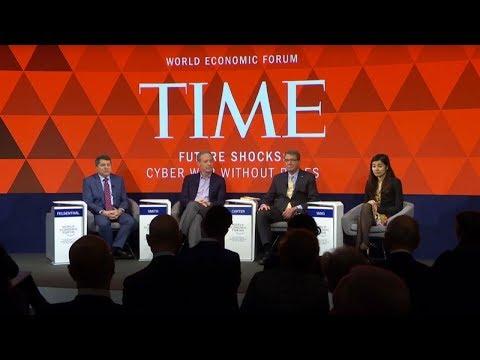 Davos: Edward Felsenthal Leads a Panel on Cyberwarfare