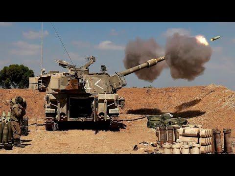 """Israël masse des blindés près de Gaza et menace le Hamas d'une """"invasion terrestre"""""""
