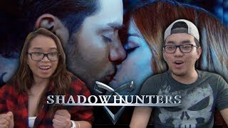 Shadowhunters Season 2 Episode 14 2x14 S2Ep14 Reaction The Fair Folk Jace and Clary Kiss Clace Kiss Seelie Queen Review. Mortal Instruments by Cassandra Clare and FreeformPlease SHARE and SUBSCRIBE for more! Follow the Ray & Danii TWITTER Page https://twitter.com/RaynDaniiTVAnd on FACEBOOKhttps://facebook.com/RaynDaniiTV~FOLLOW THE FAM~RayInstagram: http://instagram.com/RayKenseiTwitter: http://twitter.com/RayKenseiDaniiInstagram: http://instagram.com/DaniiHerondaleTwitter: http://twitter.com/DaniiHerondalePREVIOUS VIDEOS:Shadowhunters 2x14 The Fair Folk Reactionhttps://youtu.be/6nYe_suzgNkDragon Ball Super English Dub Episode 23 Reactionhttps://youtu.be/feb6AtERZaEShadowhunters Season 2 Episode 13 Reactionhttps://youtu.be/TeaSm4NUf1wGame Of Thrones Season 7 Winter Is Here Official Trailer 2 Reactionhttps://youtu.be/ohCFljUVx6MDragon Ball Super English Dub Episode 22 Reactionhttps://youtu.be/5oc1j5HOqq4Attack on Titan Season 2 Episode 12 Reactionhttps://youtu.be/M6V228AbTMMShadowhunters 2x12 You Are Not Your Own Reactionhttps://youtu.be/RXRBRax_d3cOlaf's Frozen Adventure Official US Trailer Reaction https://youtu.be/TnPYrkPf4-8Dragon Ball FighterZ Full Match Gameplay Reactionhttps://youtu.be/0dzYGMKcUSoSpiderman PS4 E3 2017 Gameplay Reactionhttps://youtu.be/PgVgyq4lEDw-------------------------------------------------------------------No Copyright Infringement IntendedShadowhunters is a show on Freeform based on The Mortal Instruments book series written by Cassandra Clare. Video footage of Shadowhunters belongs to Freeform. All credit and rights for Shadowhunters goes to the rightful owner(s).The members of NerdInsider are not affiliated with this company--------------------------------------------------------------------
