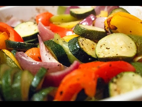How To Make Roasted Mediterranean Vegetables