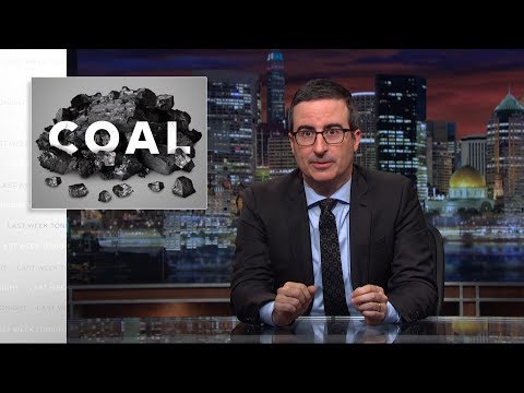 John Oliver's lump of coal for miners: Trump lies about jobs
