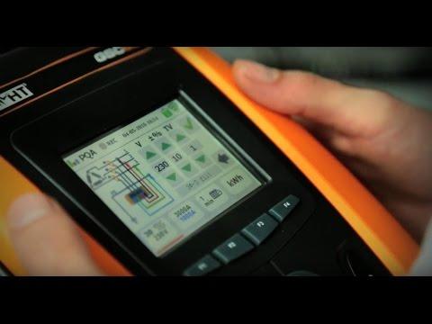 Analisi di rete e verifica della sicurezza elettrica con un unico strumento. GSC60