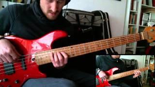 J.S Bach Minuet in G major on Bass Guitar