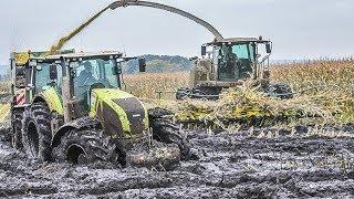 Download Lagu JOHN DEERE Traktoren im Schlamm | Schlammschlacht | Maishäckseln | Claas Jaguar | Fendt Traktoren Mp3