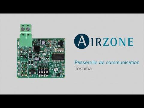 Passerelle de communication Airzone - Toshiba