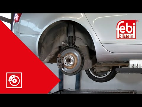 [EN] Rear brake pad and disc change (EPB) - febi bilstein Technical Video