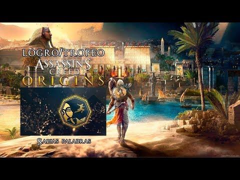 Frases sabias - Assassin's Creed Origins  Logro/Trofeo  Sabias palabras  Localización Refugios de Ermitaño