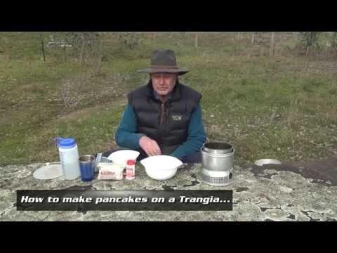 How to make pancakes on a Trangia stove by AdventurePro