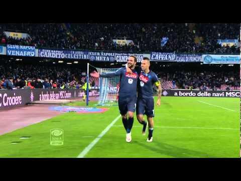Napoli-Inter 2-2 26a giornata di Serie A TIM 2014/2015 Sintesi (4 min)