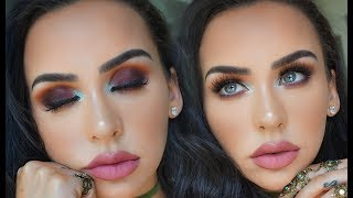 SUMMER SUNSET EYES USING ALL NEW PRODUCTS! Carli Bybel by Carli Bybel