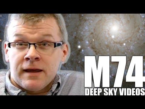Aufnehmen eines Spiral Galaxy (M74) - Deep Sky Videos