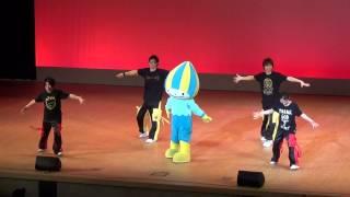 140302 ご当地キャラクターダンスフェスティバル ミナモステージ